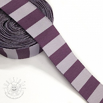 Band Stripe purple