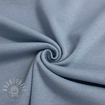 Baumwolljersey INTERLOCK baby blue