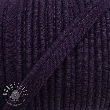 Paspelband jersey violet