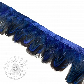 Bänder Feather dark blue