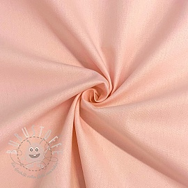 Baumwollstoff popeline light rose
