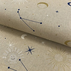 Dekostoff Linenlook Constellations