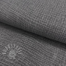 Double gauze/musselin Snoozy fabrics Dirty wash middle grey