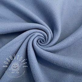 Fleece baumwoll old blue