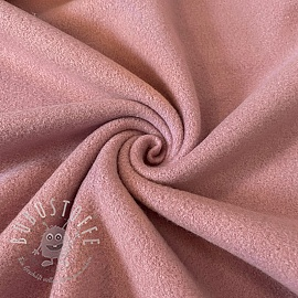 Fleece baumwoll old pink