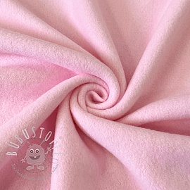 Fleece baumwoll pink