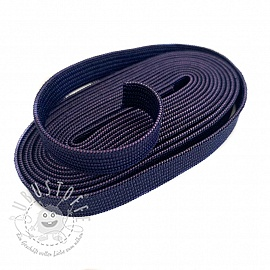Gummiband 10 mm dark blue 2 m Karte