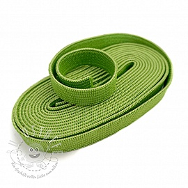 Gummiband 10 mm dark lime 2 m Karte