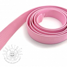 Gummiband 15 mm light pink