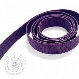 Gummiband 15 mm purple
