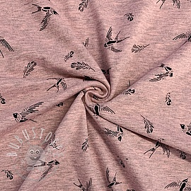 Jersey Contour swallow pink