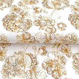 Jersey Golden garden digital print