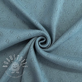 Jersey pointoille blue
