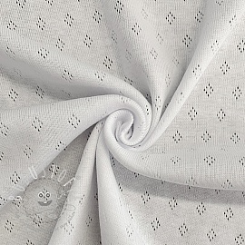 Jersey pointoille white