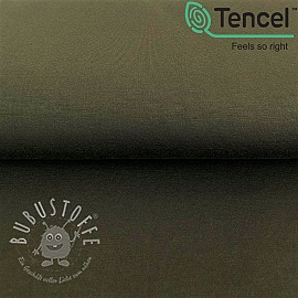 Jersey TENCEL modal dark green