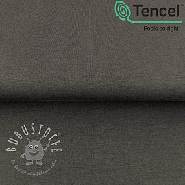 Jersey TENCEL modal dark grey