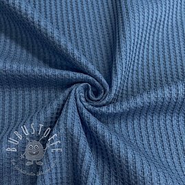 Jersey WAFFLE old blue