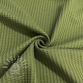 Jersey WAFFLE old green