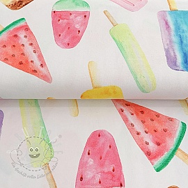 Jersey Watercolor ice lolly digital print