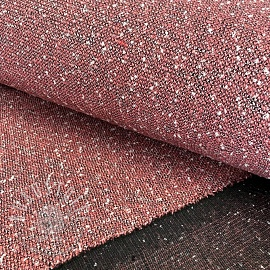 Mantelstoff BOUCLE Marion old rose