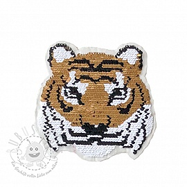 Pailletten reversibel Miss mini Tiger