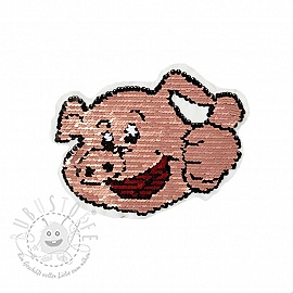 Pailletten reversibel Piggy