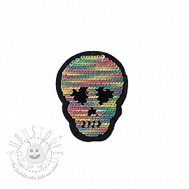 Pailletten reversibel SMALL Skull