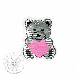 Pailletten reversibel SMALL Teddy
