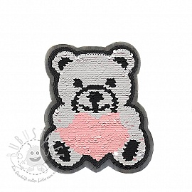 Pailletten reversibel Teddy