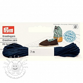 PRYM LOVE Espadrilles Kreativgarn ink
