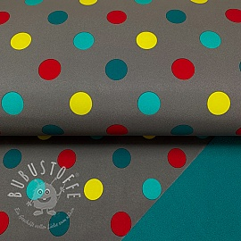 Softshell Dot grey