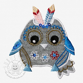 Sticker BASIC Owl Indian