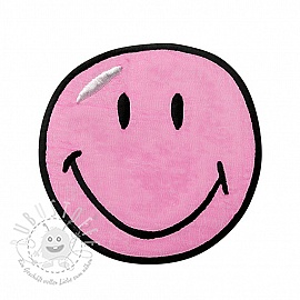 Sticker BIG Smiley pink