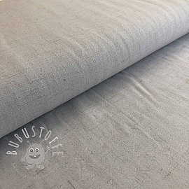 Viskosestoff leinen light grey