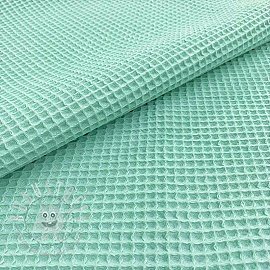 Waffle light sea green